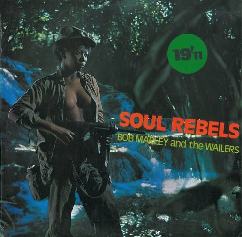 BOB MARLEY AND THE WAILERS Soul Rebels Vinyl Record LP Upsetter 1970